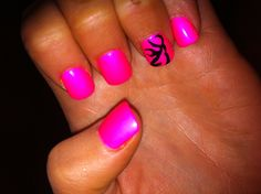 love the hot pink with browning signs!!!!
