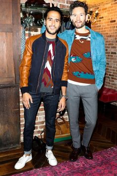Moti Ankari & Isaac Hindin-Miller  Well-Heeled. NY Rangers Henrik Lundqvist and GQ Magazine helped us celebrate the launch of our new Tramezza Made-to-Order service. Here's a look at the night. http://www.ferragamo.com/configurator/