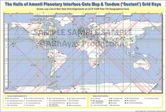 Halls of Amenti Planetary Interface Gate Map