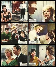 Sixties | Loby cards, This is My Street, starring Ian Hendry, June Ritchie, John Hurt, Annette Andre, Mike Pratt, John Bluthal and Mike Pratt, 1964