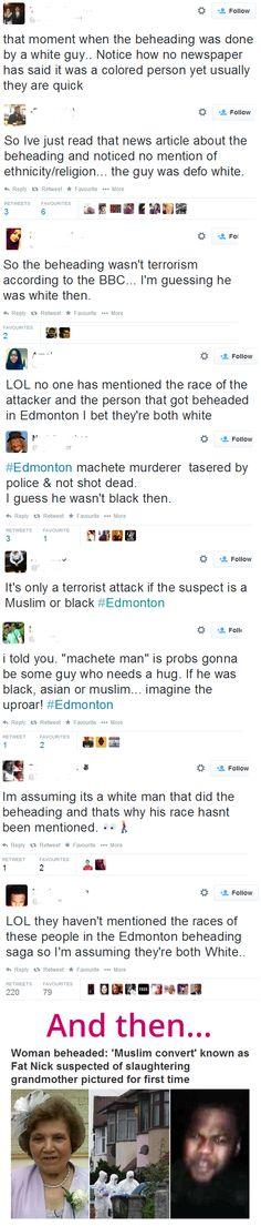 TW: Twitter. Race-baiting begins immediately after an elderly woman is beheaded in London, UK - http://www.viralbuzzspot.com/tw-twitter-race-baiting-begins-immediately-after-an-elderly-woman-is-beheaded-in-london-uk/
