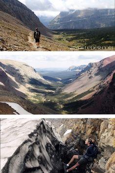 Hiking at Glacier National Park