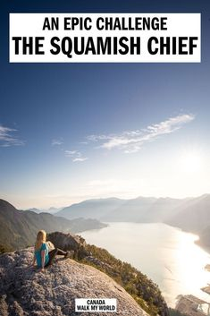 All you need to know about the Chief Hike in Squamish: how hard it is how long you need the chains photos and in-depth detail about this epic challenge for the best views in the area. Canada Travel, Travel Usa, Columbia Travel, Travel Tips, Travel Packing, Hiking Guide, Hiking Trails, Travel Activities, Wanderlust Travel