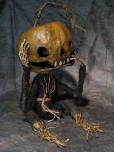 Halloween, All Hallows Eve, Trick or Treat, Witch, Goblin, Ghost, Black Cat, Bat, Skull, Ghouls, Scarecrow, Jack-O-Lantern, Pumpkin, Spooky, Scary, Haunting, Creepy, Frightening, Full Moon, Autumn, Fall, Magic Potion, Spells - Pumpkin Head From Shadow Farm