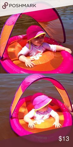 Swimways Baby Floaty with canopy.  Used one time in picture listed. Swimways Other