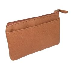 Rolfs Coin Pouch W/Removable ID Card Case. Made by Rolfs. Since 1915, Rolfs has been an industry leader in personal leather accessories. Using handsome leathers and superb craftsmanship, Rolfs makes stylish and functional designs that offers quality and value. This coin pouch is versatile enough to hold coins, keys, credit cards, cosmetics, or jewelry. The main zippered compartment includes a removable card case that has an ID window...