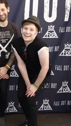 Patrick Stump why are you so cute. UPDATE HOW THE FRICK DID I GET 60+ REPINS ON THIS SO SOON THANKS YOU GUYS MAKE MY DAY!!!!
