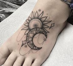 sun and moon tattoos for women - Yahoo Image Search Results ...