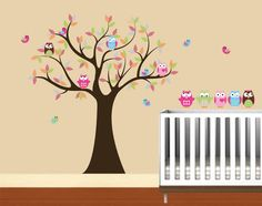 Hey, I found this really awesome Etsy listing at http://www.etsy.com/listing/96109592/kids-tree-with-4-owls-7-birds-and-set-of
