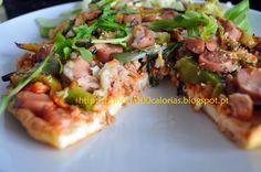 """Manias de uma Dietista: """"Pizza"""" base de claras"""