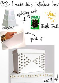 Studded Boxes