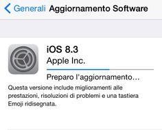 Arriva iOS 8.3 per iPhone e iPad con tante migliorie.