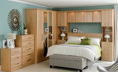 """Képtalálat a következőre: """"furniture fitted over wardrobes """"double bed"""" small OR compact OR tiny"""""""