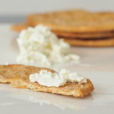 Sprinkle and spread this Vegan Goat Cheese on just about anything!
