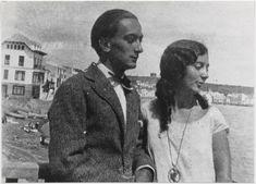 Salvador and Anna Maria Dalí in Cadaqués, 1925