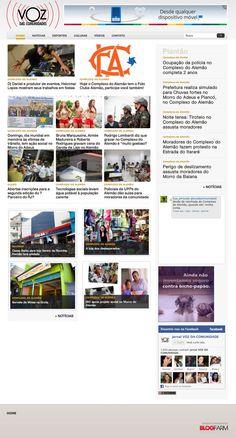 Portal Voz das Comunidades - Home - Http://www.vozdascomunidades.com.br