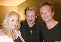 Johnny Hallyday, Sylvie Vartan et David Hallyday ♥♥♥