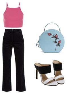 Untitled #21 by pavlinakrc on Polyvore featuring polyvore fashion style M.i.h Jeans clothing