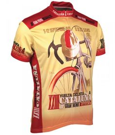 Buy Retro Cycling Jersey - 1943 Vuelta Cataluna - Mens ba72ef207