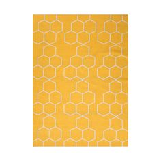 Just in case anyone was wondering, you're the queen bee of your home and this honeycomb shaped rug proves the point. The golden color will brighten up your bedroom, just like you do.  Find the Queen Bee Rug, as seen in the A Fresh Start Collection at http://dotandbo.com/collections/organized-living-a-fresh-start?utm_source=pinterest&utm_medium=organic&db_sku=91329