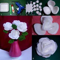 rose con polistirolo