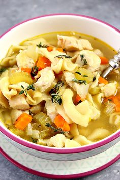 Instant Pot Chicken Noodle Soupcountryliving