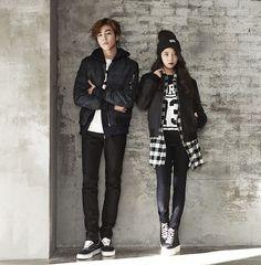twenty2 blog: IU and Lee Hyun Woo for Unionbay Winter 2015 Ad ...