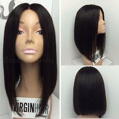 2016 Top Quality 4*4'' Silk Top Full Lace Bob Wig Short Bob Wigs For Black Women Brazilian Glueless Silk Base Lace Front Wigs 8A