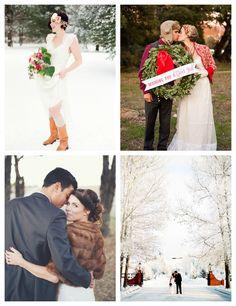 Wedding Wednesday is all about winter weddings today on elvira bleu! www.elvirableu.blogspot.com