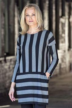 Ritva Falla Hot Dress Black/Grey