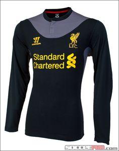 Warrior Liverpool Long Sleeve Away Jersey 2012-2013...$76.49
