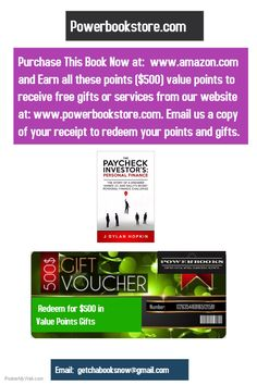 paycheck investor...now with FREE $75.. gifts after purchase !!!