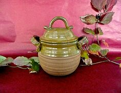 Jar Stoneware Cremation Urn Pottery Urn Ceramic Pet by CleverClay