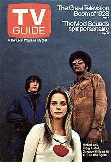 The Mod Squad - TV Guide cover, July 3, 1971