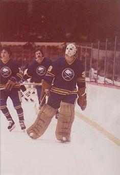 Goalie Mask, Buffalo Sabres, Ice Hockey, Nhl, The Past, History, Athletes, Masks, Sports