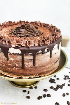 Vegan chocolate coffee cake | ft Vivani | The Little Blog Of Vegan