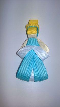 Cinderella Inspired Hair Clip - Disney inspired Princesse Hair Clip
