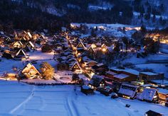 Shirakawa-go di Gifu - Info Liburan dan Wisata di Jepang Gifu, Shirakawa Go, Travel Pictures, Travel Photos, Magazin Design, Japan Landscape, Toyama, Travel Icon, Beaux Villages