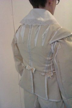 17th century Mens doublet.
