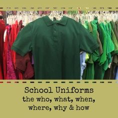 School Uniforms: The Who, What, Where, Why and How   Alamo City Moms Blog