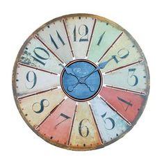 Very nice colorful clock.
