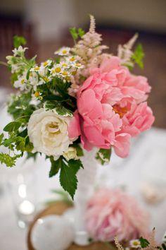 Peonies in milk glass - holly flora