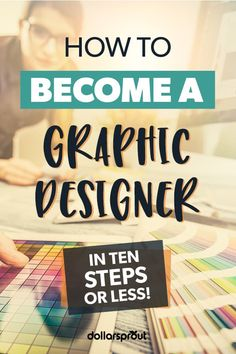 Learning how to become a graphic designer isn't too hard. You need a good eye an interest in visual arts and a willingness to learn more. Learn how to create your own online business. Make money Fast and Easy. Web Design, Graphic Design Tips, Graphic Design Inspiration, How To Make Money, How To Become, Business Design, Craft Business, Business Branding, Online Business