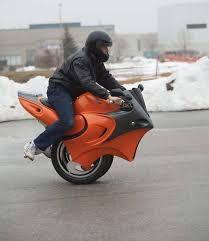 Image result for one wheel motorbike