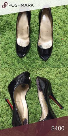 Christian Louboutins Size 38- Used- feels like a size 7 Christian Louboutin Shoes Heels