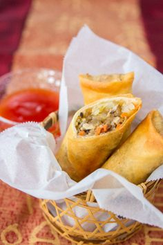 Spring Roll | Easy Cookbook Recipes