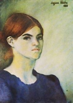 """Self Portrait"" by Suzanne Valadon (1883)"