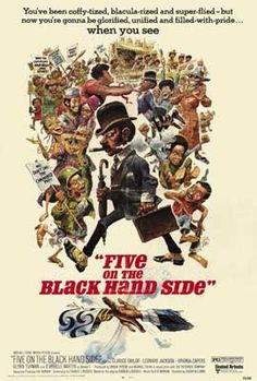 Five on the Black Hand Side Movie Posters From Movie Poster Shop
