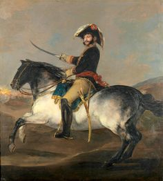 """goya francisco prt of general jose de palafox a caballo (from <a href=""""http://www.oldpainters.org/picture.php?/26506/category/10346""""></a>)"""