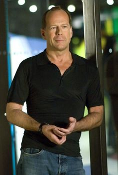 """Bruce Willis  """"Everyone has a right to bear arms. If you take guns away from legal gun owners, then the only people who have guns are the bad guys."""""""
